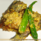 Shorshe Begun Kankra - Sea Crab with eggplant in mustard sauce