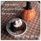 3 Ingredient Pumpkin Brownies