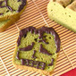 HALLOWEEN Frankenstein Matcha Green Tea Pound Cake - Video Recipe