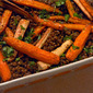Roast Roots with Lentils and Cumin Yoghurt