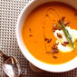 Carrot Soup with Tarragon, Ginger and Toasted Pepitas: Private Chef-ing By the Book with Seamus Mullen
