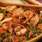 Chicken Couscous Salad with a Harissa Dressing
