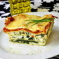 Goat Cheese and Feta Spanakopita Lasagna