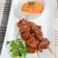 Dinner Diva Sweet & Sour Chicken Gizzard Kebabs With Ginger Xiritsa Xa Tamati Dip