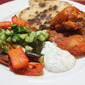 Tandoori Chicken, Roasted Vegetables & Cucumber Sambal