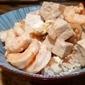 Shrimp and Tofu Donburi