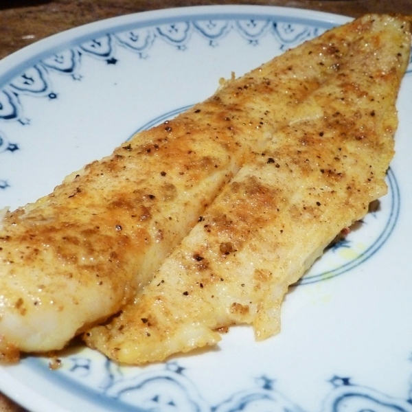 Simple pan fried fish with indian spices recipe by john for Best fish to pan fry