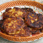 Pumpkin mashed potato pancakes