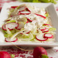 Celery, Fennel & Radish Salad is my Excuse to Make Homemade Blue Cheese Dressing