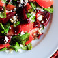 Tomato & Pickled Beet Salad