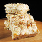 Healthy Apple Oats Cheesecake Bars