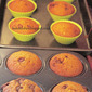 Warm & spicy autumn muffins for Baking partners challenge : featuring pumpkin