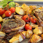 Rosemary Roast Lamb Chops and Potatoes