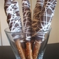 Chocolate Covered Caramel Pretzel Rods