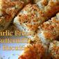Garlic Bread Buttermilk Upside-Down Biscuits