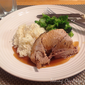 Braised Pork Shoulder with Apple Cider and Ginger Beer