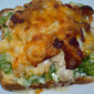 #SundaySupper Thanksgiving Leftover Edition...Featuring Turkey Mornay Open-Faced Sandwiches