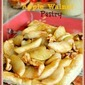 Easy Apple Walnut Pastry with Buttermilk Sauce