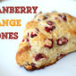 Fresh Cranberry Orange Scones