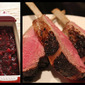 Perfect Pair: Maple-Herb Crusted Rack of Border Springs Lamb with Cranberry Chutney