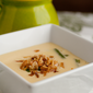 Cheddar Cheese Soup with Haricots Verts, Mushrooms, & Cronions; A Green Bean Casserole Makeover