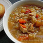 Bodacious Turkey Bone Soup