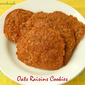 Oats Raisins Cookies