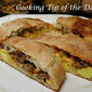 Recipe: Sausage Egg and Cheese Breakfast Stromboli