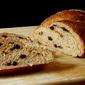 Multi-Grain Cinnamon Raisin No-Knead Bread