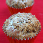 Christmas Crumble Muffins