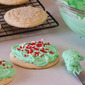 No Roll Frosted Sugar Cookies