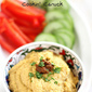 Creamy Curry Hummus Recipe: A Healthy Snack