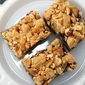 honey roasted peanut butter and jelly bars