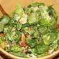 Salad of Garden Greens, Hearts of Palm, Satsumas, and Candied Pecans