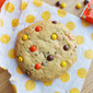 Giant Reese's Pieces Peanut Butter Cookie