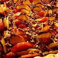 Roasted Sweet Potatoes & Apples in Honey-Bourbon Sauce