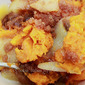 Baked Butternut Squash with Apple Cinnamon Topping Recipe