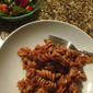 Roasted Eggplant and Whole Grain Rotini