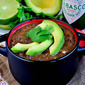 Best-Ever Black Bean Soup with Cilantro-Lime Rice