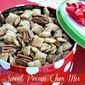 Sweet Pecan & Peanut Butter Blossoms Chex Party Mix & {Giveaway}