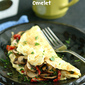 Easy Mushroom & Sun-Dried Tomato Omelet Recipe
