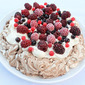 Chocolate and Vanilla Berry Pavlova - Recipe