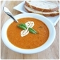 Fresh Tomato Basil Cream Soup