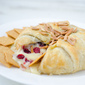 Cranberry Toasted Almond Brie en Croûte + Fisher Nuts Giveaway!