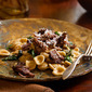 Cabernet Braised Short Ribs with Swiss Chard and Orecchiette for Dummies?