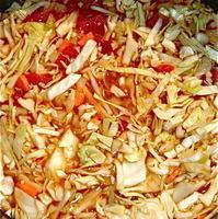 Hannah's Sweet & Sour Cabbage Soup