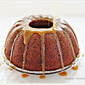 Rum and Prune Cake with Caramel Sauce