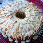 Almond Poppy Seed Coffee Cake with Almond Streusel