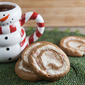 Gingerbread-Peppermint Pinwheels