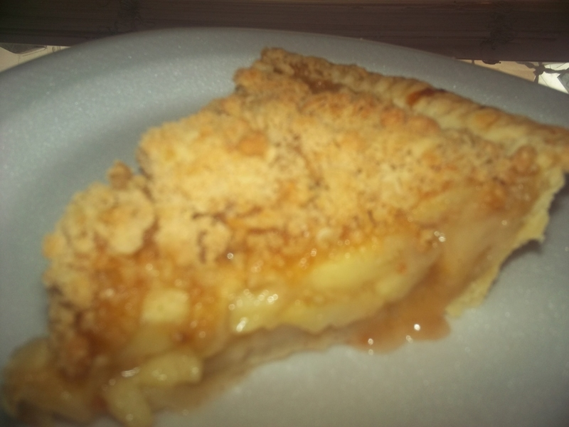 Dutch Apple Pie with Oatmeal Streusel Recipe by myra - CookEatShare